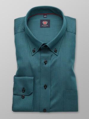 Ciemnozielona klasyczna koszula