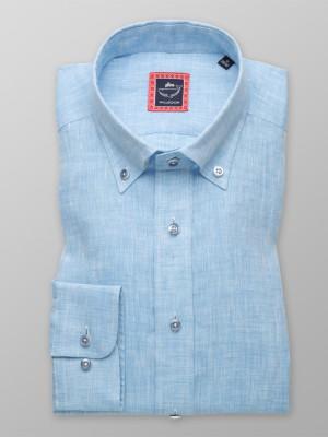 Koszula lniana London (wzrost 176-182)