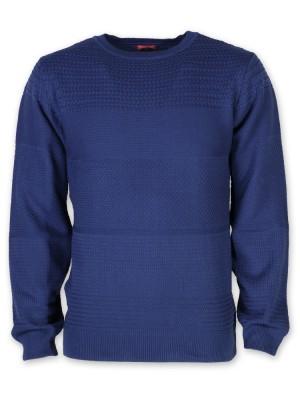 Modrakowy sweter