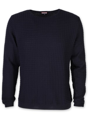 Cienki granatowy sweter