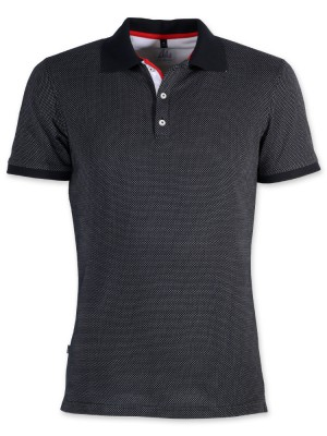 Ciemnogranatowa koszulka polo