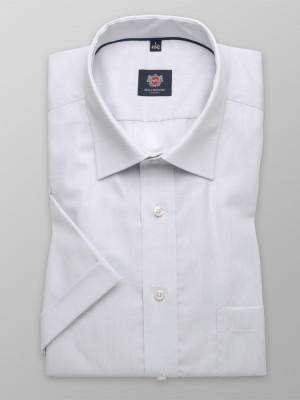 Klasyczna jasnoszara koszula