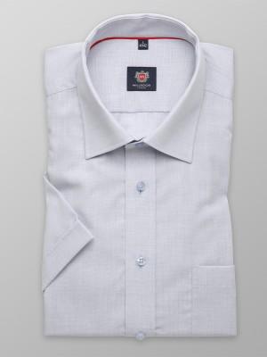 Jasnoszara taliowana koszula