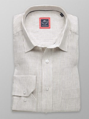 Klasyczna koszula z lnu