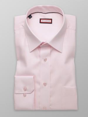 Klasyczna różowa koszula