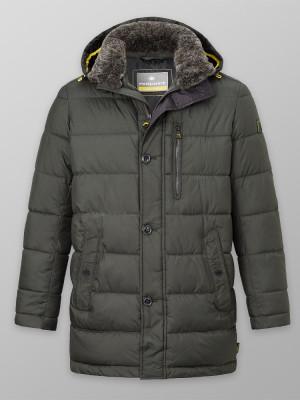 Długa zielona kurtka zimowa Redpoint