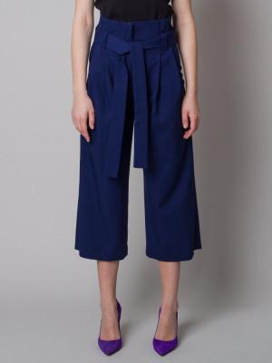 Granatowe spodnie Kuloty