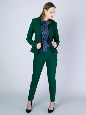 Zielony garnitur damski