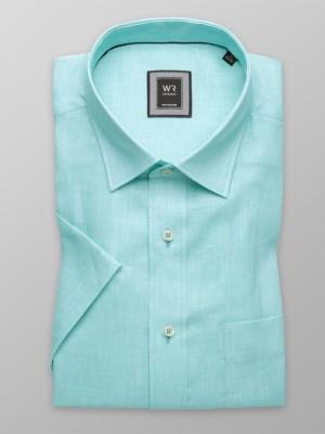Klasyczna turkusowa koszula