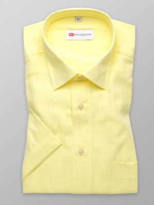 Klasyczna żółta koszula