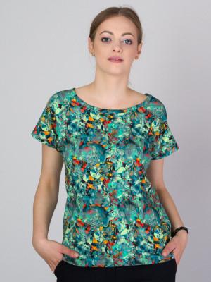 Kolorowy t-shirt