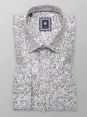 Klasyczna biała koszula w łezki