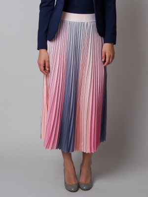 Długa spódnica plisowana