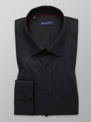Czarna klasyczna koszula