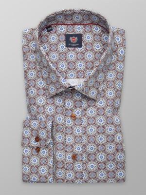 Klasyczna koszula w orientalne wzory