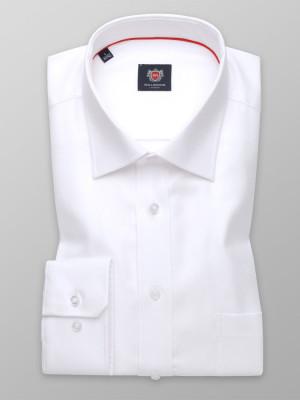 Biała klasyczna koszula z kołnierzykiem KENT