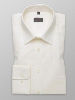 Taliowana koszula ecru