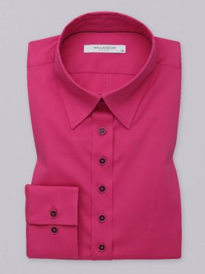 Gładka bluzka w biskupim kolorze