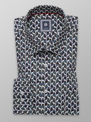 Klasyczna koszula w stylowy wzór