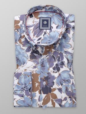Klasyczna koszula w kwieciste wzory
