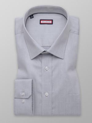 Szara klasyczna koszula
