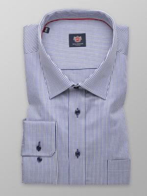 Klasyczna koszula w drobną kratkę