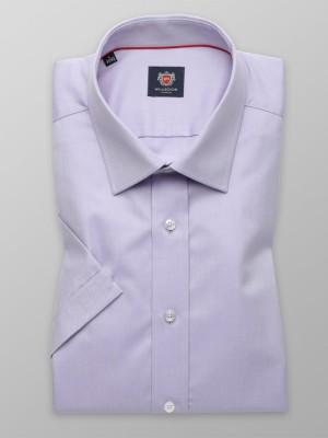 Wrzosowa gładka taliowana koszula