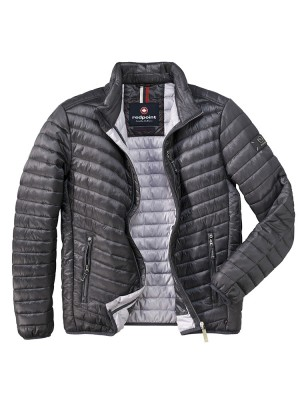 Antracytowa kurtka pikowana Redpoint