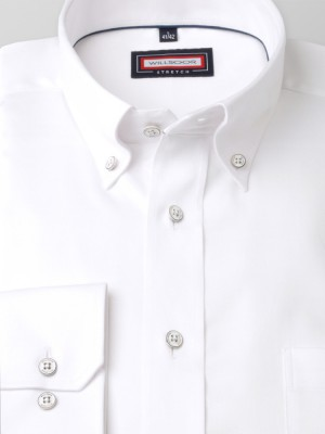 Biała klasyczna koszula stretch