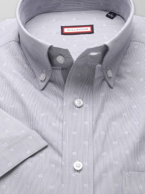 Klasyczna koszula w drobne prążki