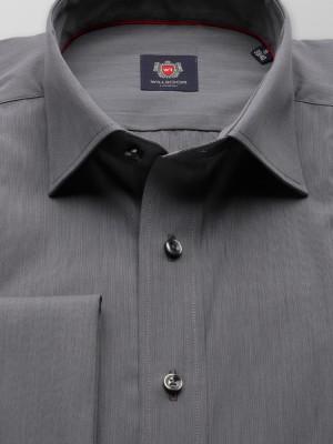 Klasyczna taliowana koszula na spinki