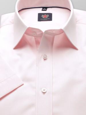 Jasnoróżowa taliowana koszula