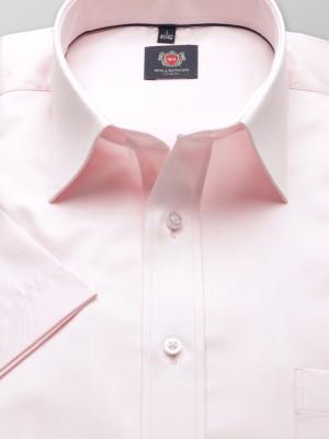 Jasnoróżowa klasyczna koszula