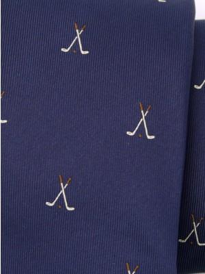 Krawat jedwabny (wzór 360)