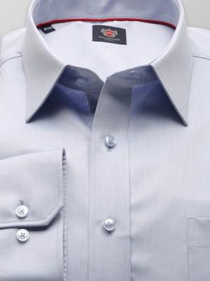 Klasyczna jasnobłękitna koszula na spinki