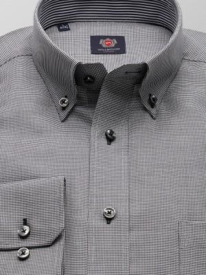 Klasyczna koszula w drobną pepitkę