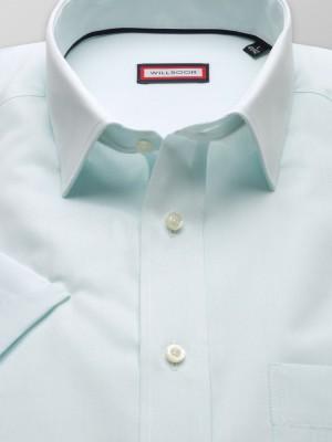 Klasyczna jasnozielona koszula