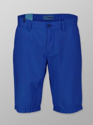Niebieskie szorty męskie typu chino
