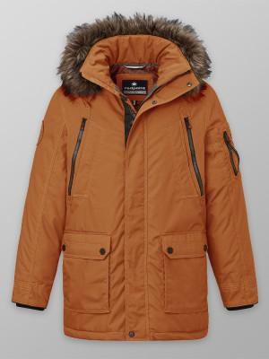 Pomarańczowa kurtka zimowa Redpoint