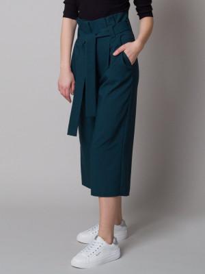 Ciemnozielone spodnie Kuloty