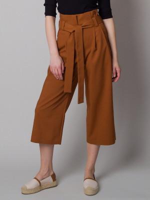 Brązowe spodnie Kuloty