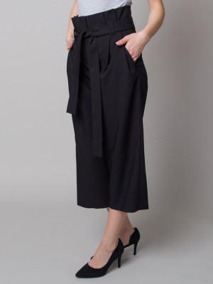 Czarne spodnie Kuloty