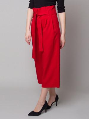 Czerwone spodnie Kuloty