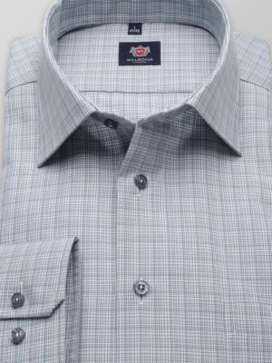 Taliowana koszula w drobny wzór