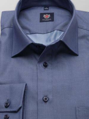 Niebieska klasyczna koszula
