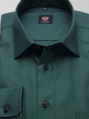 Zielona klasyczna koszula