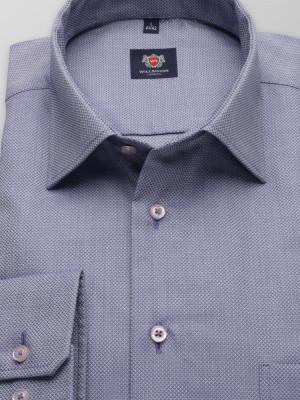 Szaro-niebieska klasyczna koszula