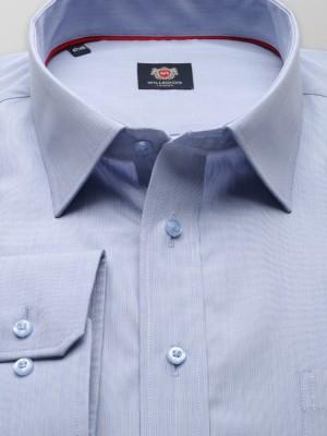 Jasnobłękitna klasyczna koszula w prążek