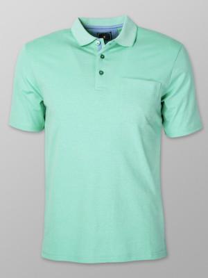 Miętowa koszulka polo
