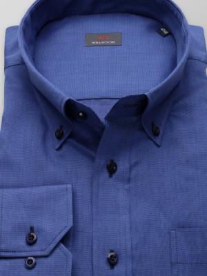 Granatowa klasyczna koszula